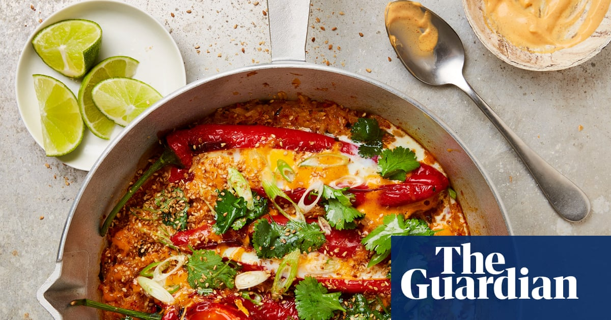 From baked kimchi rice to custard cream affogato: Yotam Ottolenghi's egg recipes