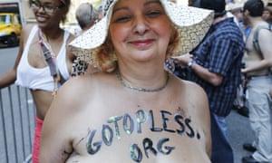 Go Topless Pride Parade