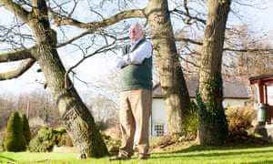 Gerald Seymour, at home in Oxfordshire