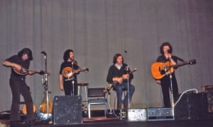 Planxty (Andy Irvine, Johnny Moynihan, Paul Brady and Liam O'Flynn) captured by a reader in the mid-70s.