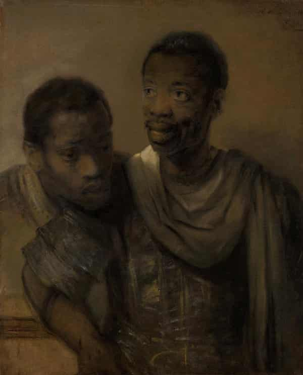 Intimate … Rembrandt's Portrait of Two African Men.
