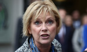 MP Anna Soubry close-up