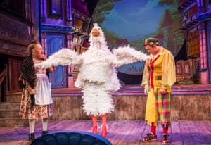 Mother Goose at Wilton's in London.