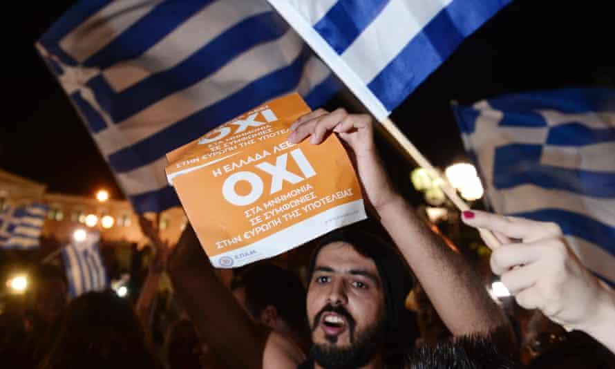 Greece referendum no vote Athens