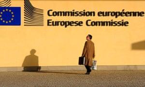 Berlaymont – the EU headquarters in Brussels.