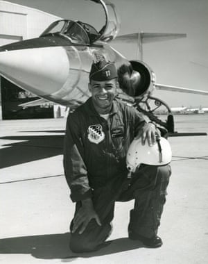 Ed Dwight, the decorated pilot who was passed over as a Nasa astronaut.