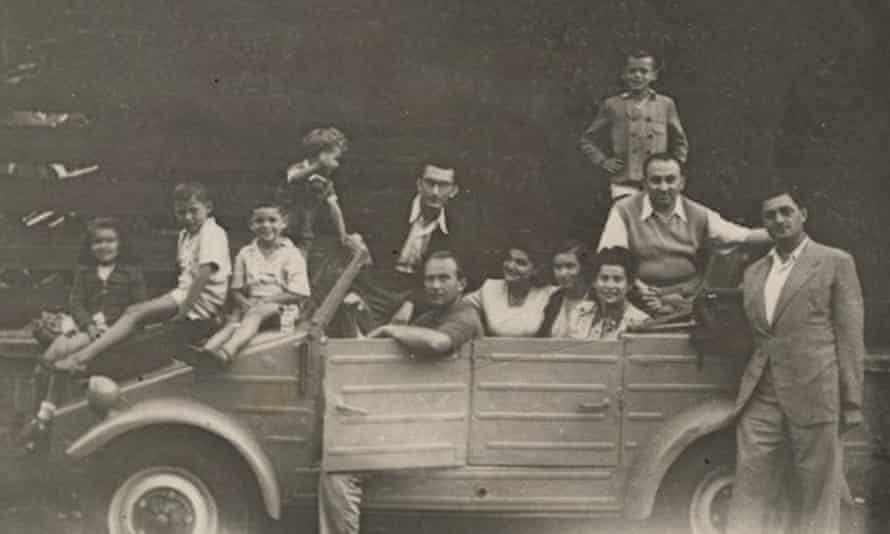 The Luttwak family in Palermo when Edward was a small child