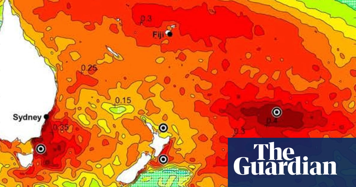 How a hot blob off New Zealand is contributing to drought in South America