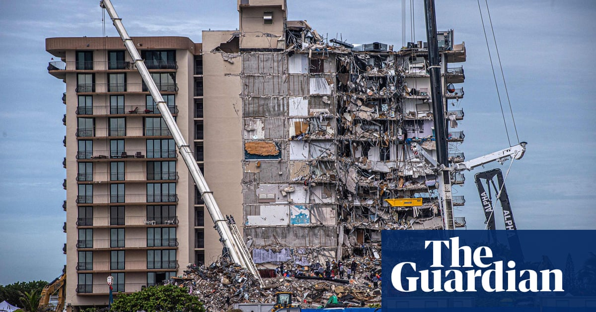 Search for bodies in Florida condo collapse ends, with death toll at 97