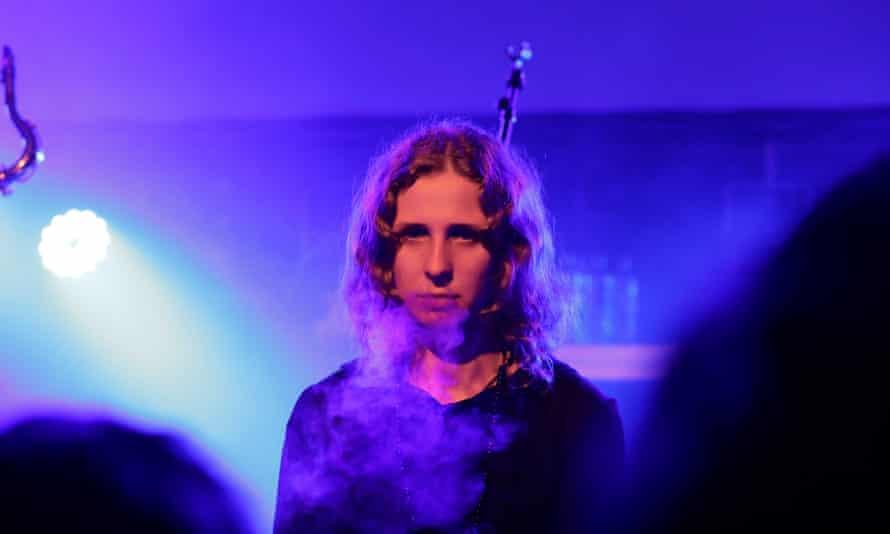 Maria 'Masha' Alyokhina, on stage in Edinburgh.