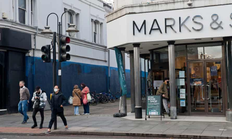 Marks and Spencer in Brixton, London