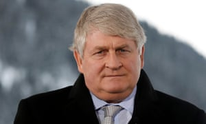 Denis O'Brien, controller of newspapers and radio outlets.