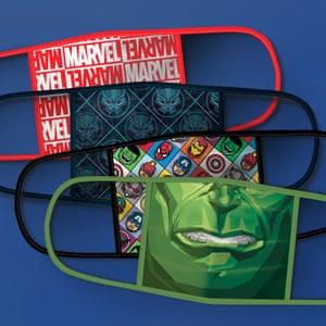 Disney face masks.