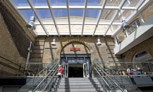 The Parcel Yard in King's Cross station