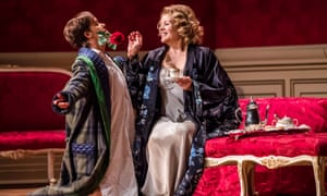 Alice Coote (Octavian) and Renee Fleming (The Marschallin) in Der Rosenkavalier at the Royal Opera House, London in 2016.