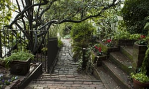 Down memory lane … Macondray Lane in San Francisco, which became Barbary Lane in Tales of the City. Photograph: Jason Andrew/Getty