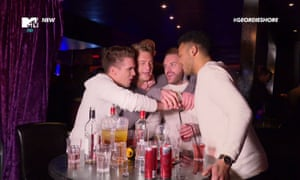 Geordie Shore: 'There's a lot of drinking.'
