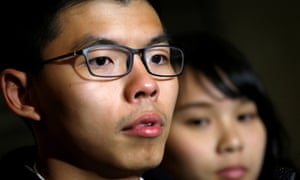 Former student leader Joshua Wong was arrested this morning for his alleged role in Hong Kong protests.