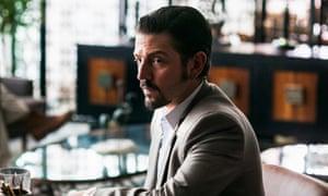 King of kings … Diego Luna as Felix Gallardo in Narcos: Mexico