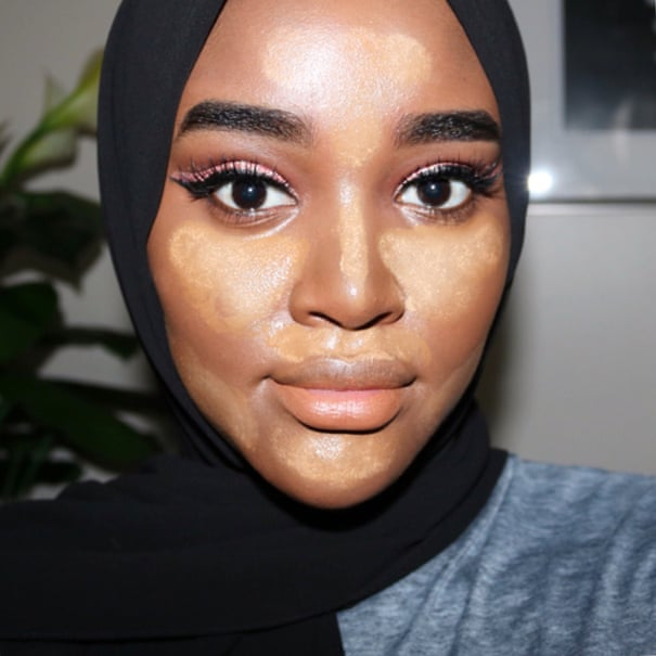 How to highlight and contour darker skin | Hani Sidow | Fashion