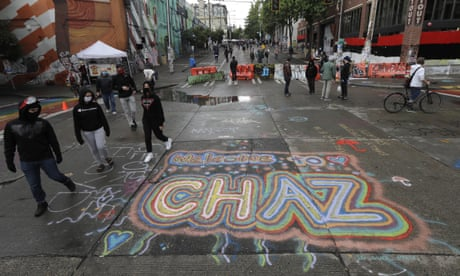 One Dead And One Wounded In Shooting In Seattle Police Free Zone Us News The Guardian