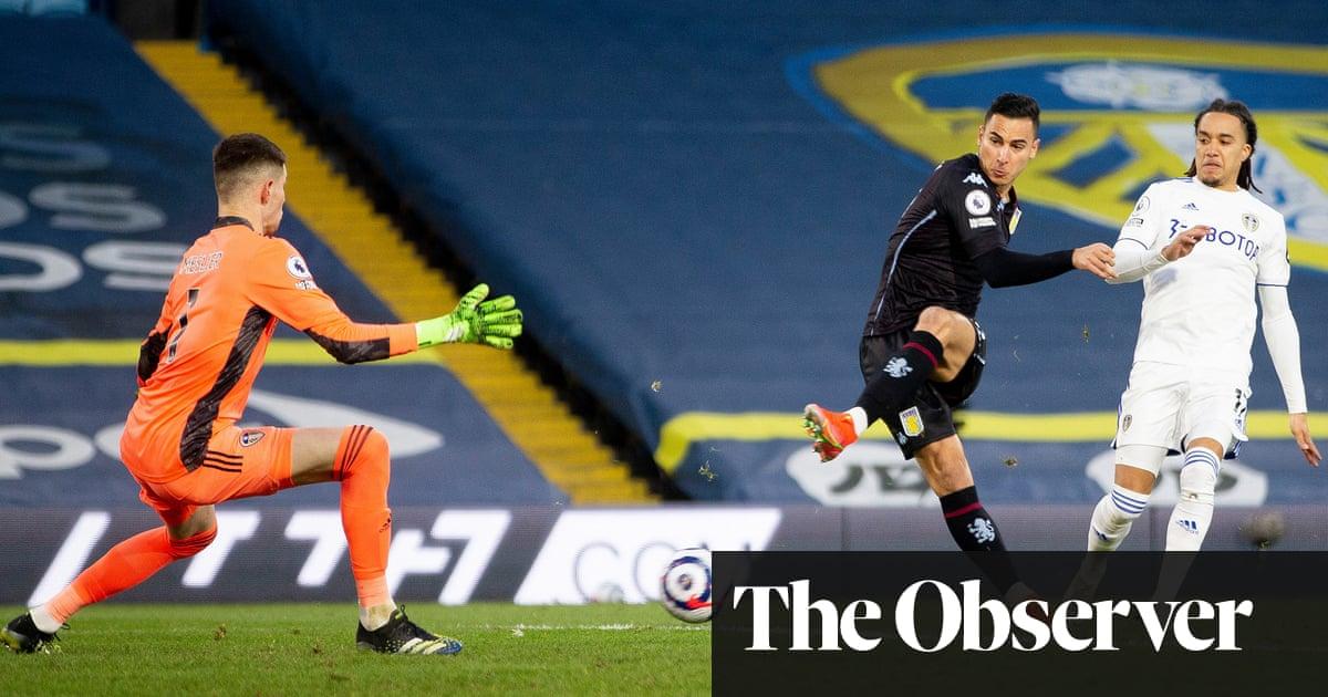 Anwar El Ghazi scores winner as commanding Aston Villa blunt Leeds