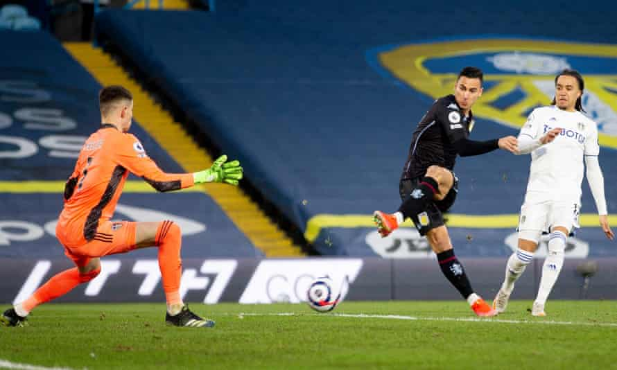 Anwar El Ghazi scores winner as commanding Aston Villa blunt Leeds |  Premier League | The Guardian
