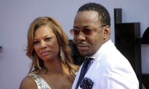 Bobby Brown (right) with his wife Alicia Etheredge.
