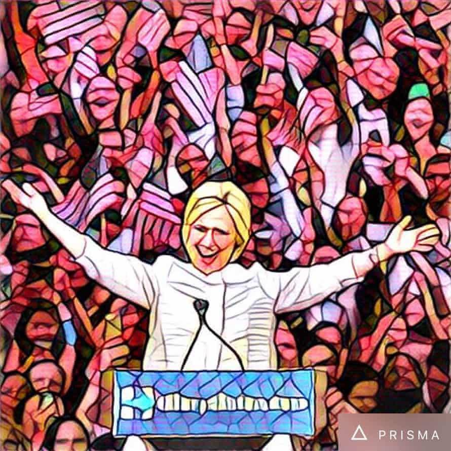 Prisma prez: Hillary Clinton secures enough delegates to become the Democratic Party's presumptive presidential nominee.