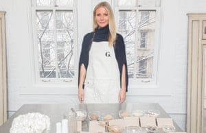 Gwyneth Paltrow launching the Goop skincare range in March 2016.