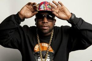 atlanta rapper big boi in shades and a baseball cap