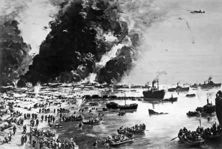 Charles Cundall's painting, The Evacuation of Dunkirk