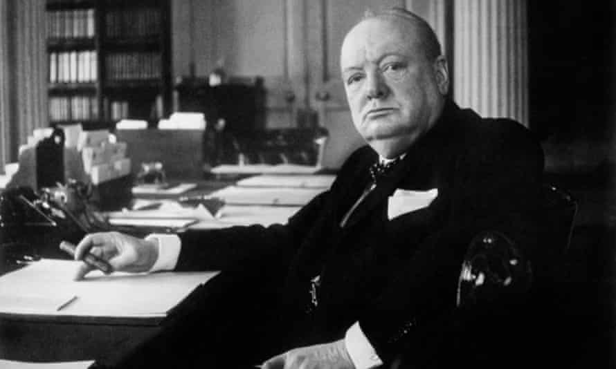 Churchill, partial to a 'papa cocktail' – Johnnie Walker.