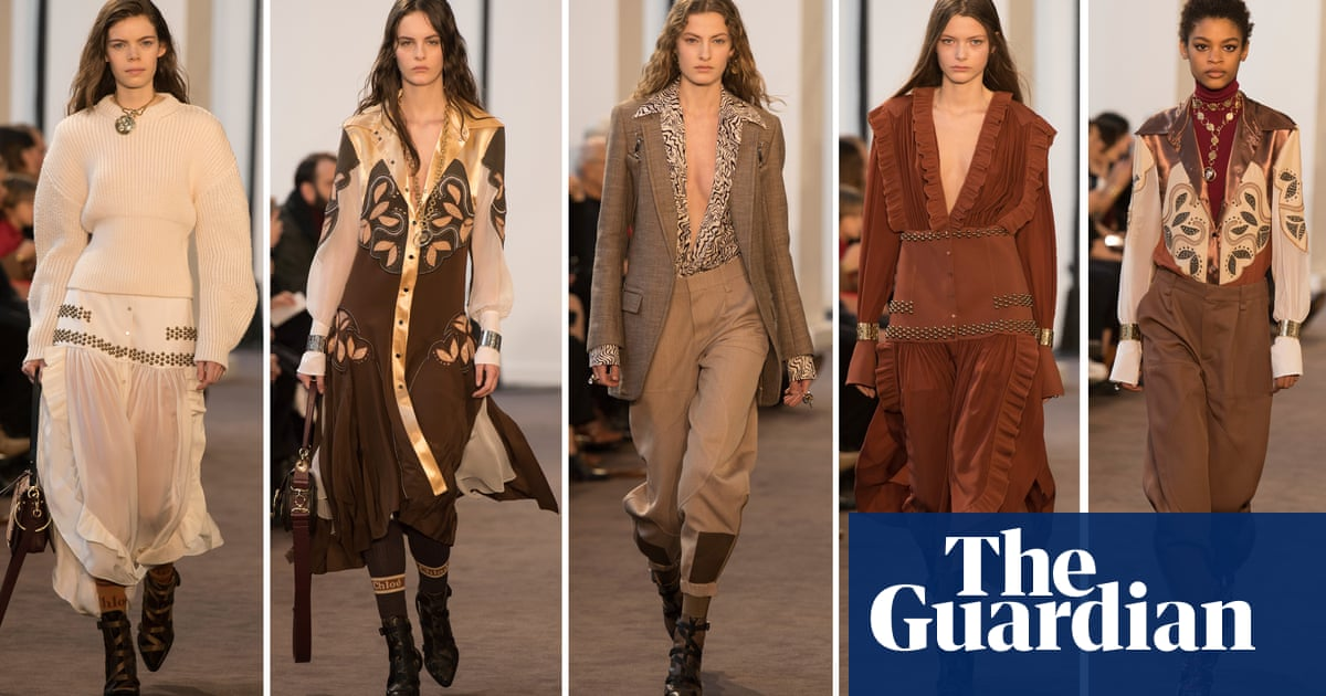 63db8f5089a Paris fashion week autumn winter 2018  the key shows – in pictures ...