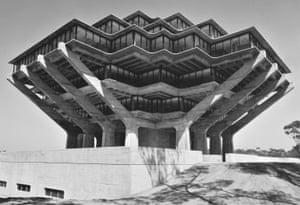 Geisel Library, University of California, San Diego, California, USA, 1970 by William Pereira & Associates.