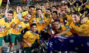 Australia's players