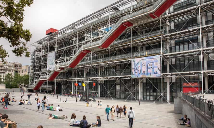 The Pompidou Centre in Paris.