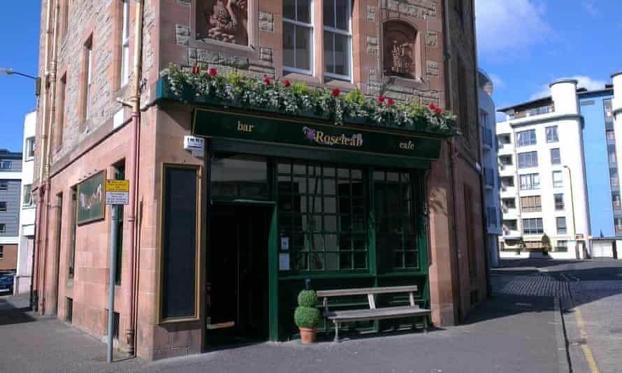 The Roseleaf pub in Edinburgh