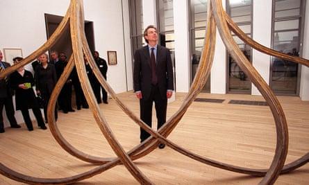 Tony Blair at Tate Modern in 2000.