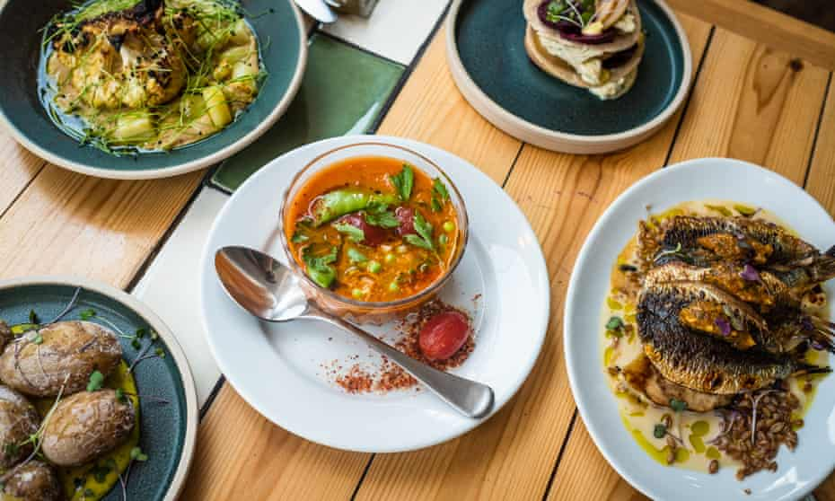 plant-forward dishes at Eat Your Greens. Leeds