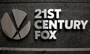 The 21st Century Fox headquarters in New York.
