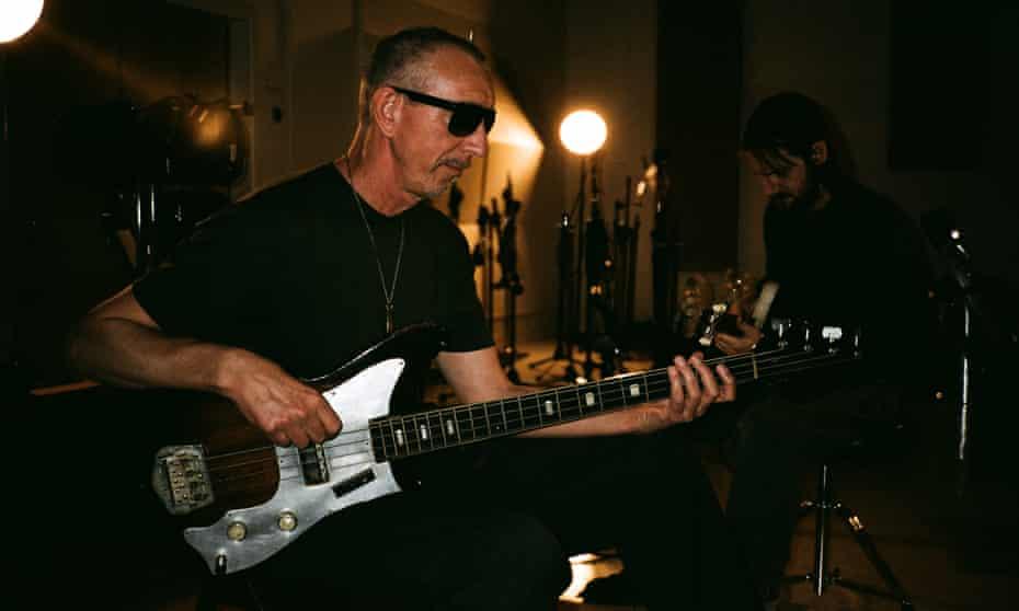Rock's sideman of choice ... Pino Palladino, left, with Blake Mills.