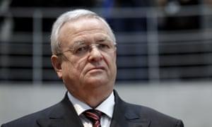 Martin Winterkorn, former head of Volkswagen