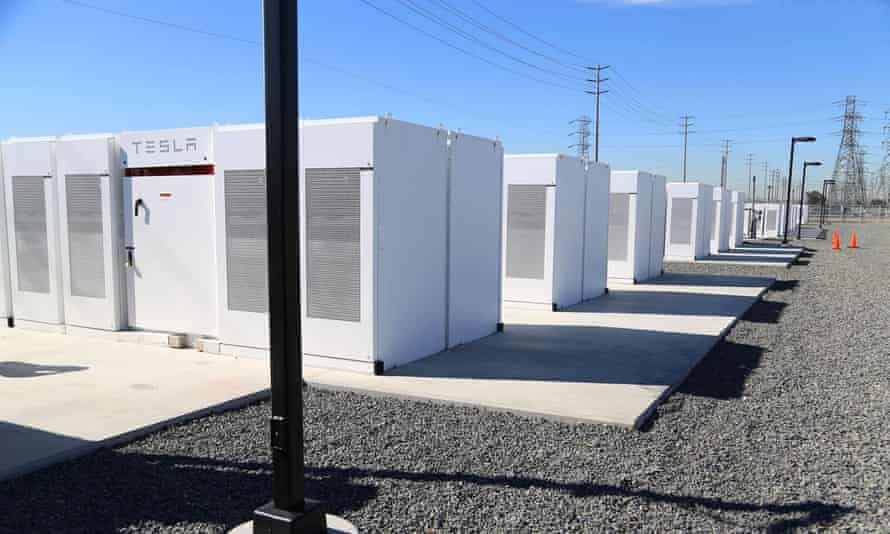 The Tesla battery farm will be used to store energy and meet spikes in demand – like on hot summer afternoons when buildings start to crank up the air conditioning.