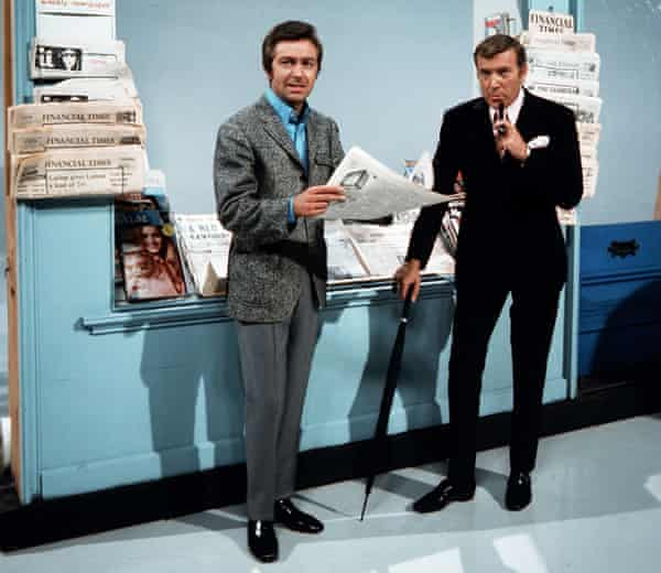 Des O'Connor and Val Doonican on The Des O'Connor Show in 1970.