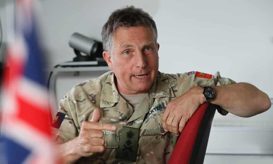 Sir Nick Carter, the British army's chief of general staff.