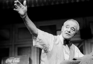 Jack Lemmon in Veterans Day at the Theatre Royal Haymarket in 1989