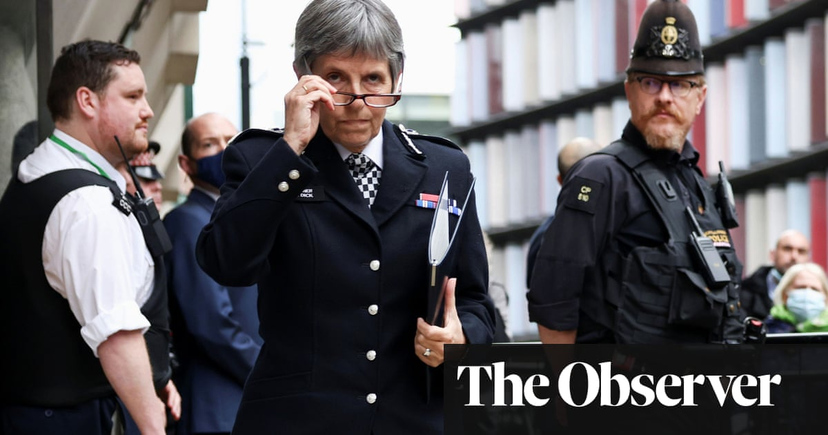 The Observer view on institutional misogyny in the Metropolitan police