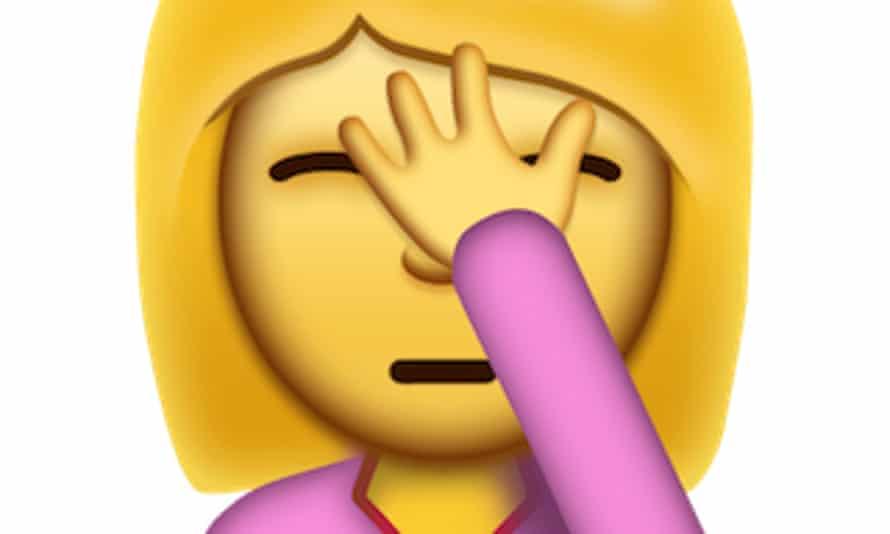 Face palm emojis