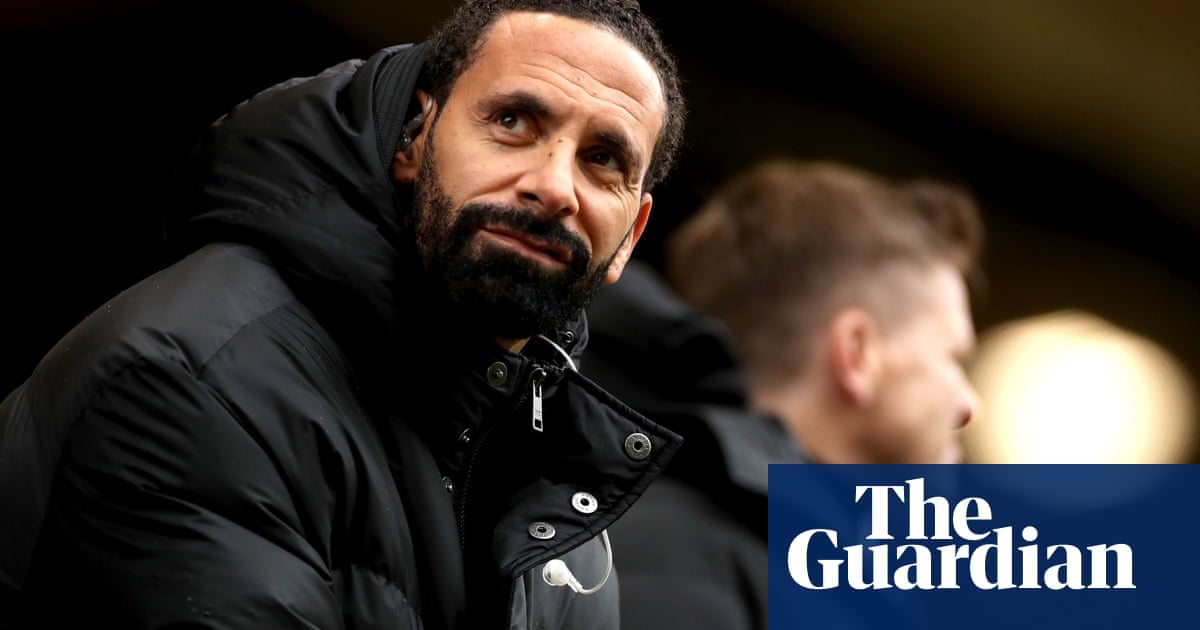 Man arrested after racist gesture to Rio Ferdinand at Wolves